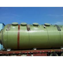 Tour de désulfuration d'épurateur de gaz de FRP / GRP pour l'usine chimique