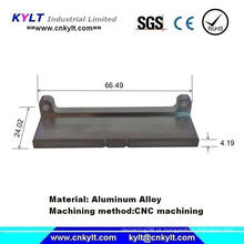 Peças de usinagem do CNC da liga do metal do magnésio