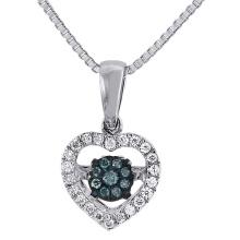 925 ventas al por mayor de plata de la joyería de los colgantes del diamante del baile