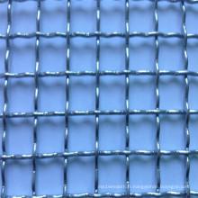 Treillis métallique ondulé d'armure (usine)