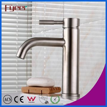 Fyeer 304 Edelstahl Waschbecken Wasserhahn