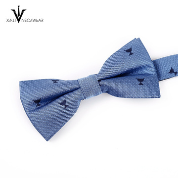 New Fashion Low Price Double Layer Sharp Bow Tie Supplier