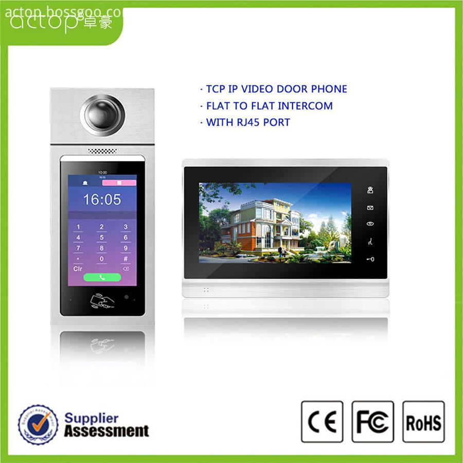 Video Door Entry Phone Intercom System