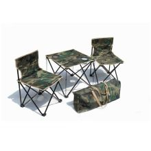 Outdoor Camping Beach Lightweight Folding Fishing Chair Set