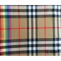 Classic Check Pattern Cotton Blended Fabric