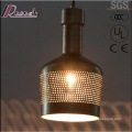 Black Ancient Industry Hollow Pendant Lighting with Bar