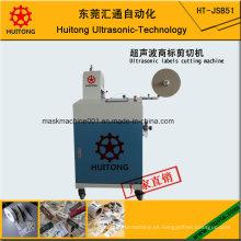 Máquina de corte ultrasónico automático de etiquetas