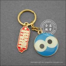 Offset-Druck Schlüsselbund, niedlichen Schlüsselanhänger (GZHY-KC-017)