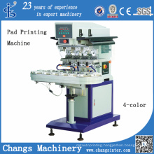 Spy 4 Color Automatic Pad Printing Machine with Conveyor