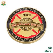 China Manufacturer Custom Metal Souvenir Embossed 3D Logo Enamel Antique Old Coins for Buyers