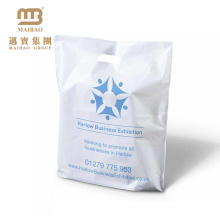 High quality curtain packaging bag with die cut handles