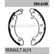 pièces de voiture GS8538 0060703319 pour Renault reliner les chaussures de frein