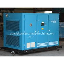 Compresseur d'air à vis rotative lubrifié à l'huile stationnaire (KF160-08INV)