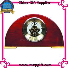 Horloge de table en bois pour cadeau de promotion