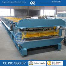 Aluminiumdoppelschicht, die Maschine für 900mm 1000mm Roofing Panle bildet