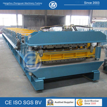 Aluminium Double Layer Forming Machine for 900mm 1000mm Roofing Panle