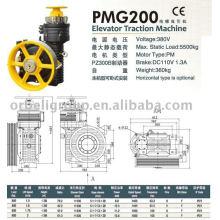 Máquina de tração de elevador (série PMG)