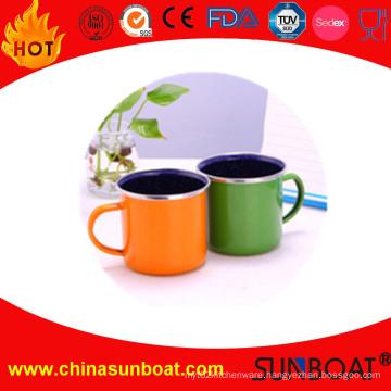 Factory Wholesale Customized Design Enamel Coffee Mug