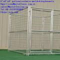 Die Fabrik, die Metall galvanisierten Hund liefert, läuft 1.8mx 2.4m x1.8m große Hundekäfig-Torriegelhundehütten