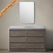 Новый классический бамбуковый шкаф для ванной комнаты