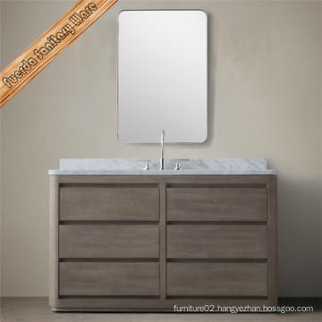 New Classical Bamboo Bathroom Vanity Cabinet