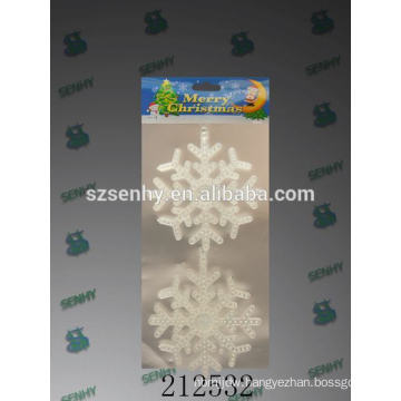 faddish crystal snowflake christmas hanging decorations