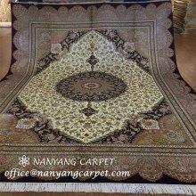 8'x10' Silk Oriental Persian Tabriz Rug Handmade