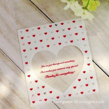 Sweet Heart Self Adhesive Seal Bakery/Food Packaging Bag, Available in Various Styles and Colors