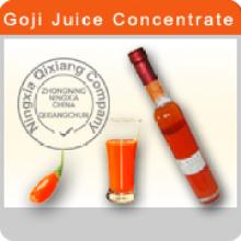 Certificado 100% Concentrado de zumo de Goji orgánico