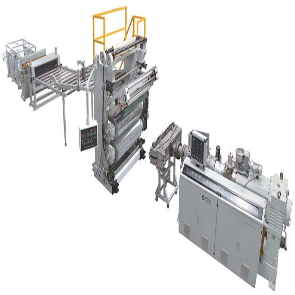 PVC-imitation-marble-sheet-production-line