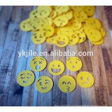 Party popper con emoji de confeti
