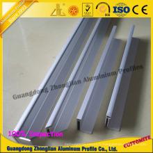 Profil en aluminium d'extrusion pour le cadre de panneau solaire de profil de cadre