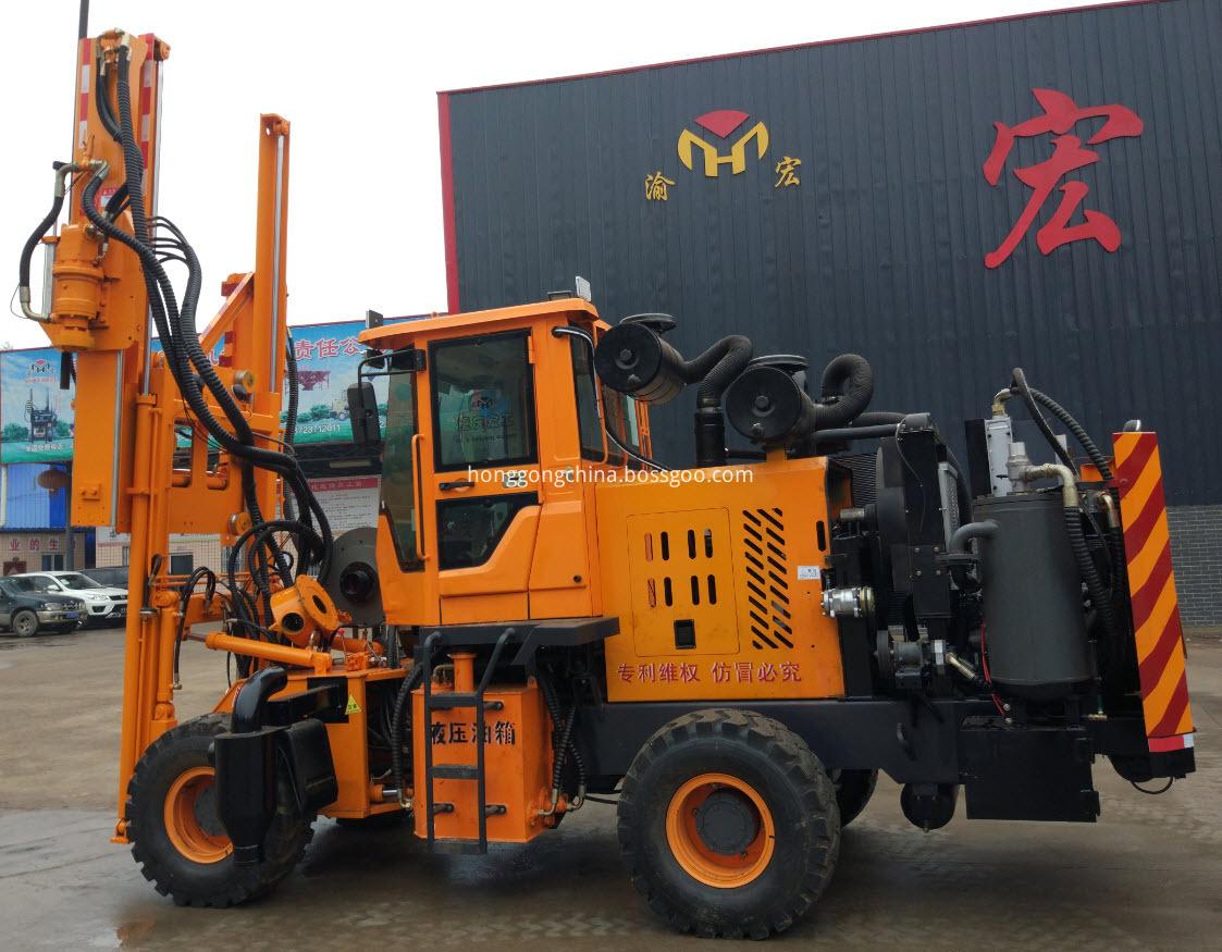 Hydraulic Press Pile Machine