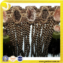 New Fashion Bullion Curtain Tassel Fringes used for Cushions, Upholstery,Tapestry,Sofa and Accessory Decoration