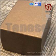 Boîte de rangement en papier d'art de thé haut de gamme