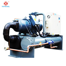 Screw water chiller in chilling equipment