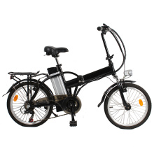 China mini bici plegable eléctrica del helicóptero de ebike pedelec protable