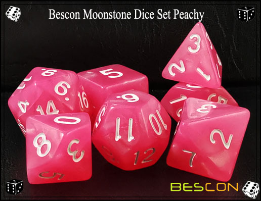 Peachy Dice Set-2