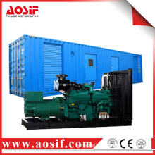 AOSIF powerful diesel engine generator trailer used for sale