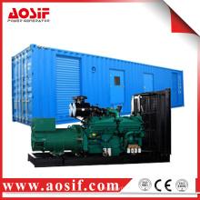 AOSIF мощный дизельный двигатель генератор прицеп используется для продажи