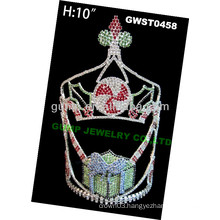 Christmas gift rhinestone tiara and crown