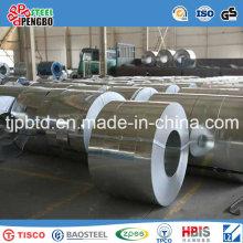 Alta qualidade 201 304 316 430 folha de aço inoxidável, bobina de aço inoxidável