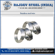 Stainless Steel Wire with High Luster High Rigidity Features