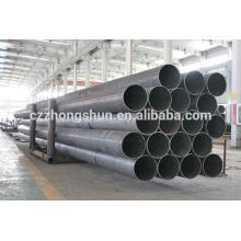 Carbon M.S. ERW steel pipe ASTM A53 Gr B/API5L/Q235/SS400