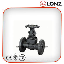 ANSI A105 Carbon Steel Flanged Forged Steel Gate Valve