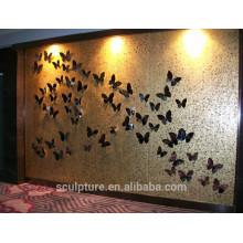 Interior do hotel Decoração / parede relievo / metal relievo