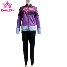 Customized polyester casual tracksuits