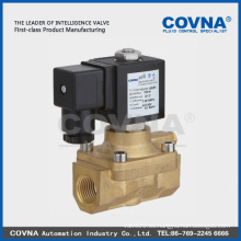 Válvula de alta presión de solenoide de bronce de buena calidad