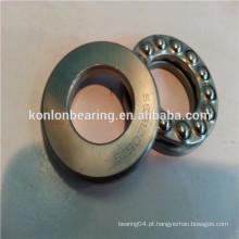 Aço cromado aço inoxidável 51102 51202 único rolamento de esferas de roda direccional
