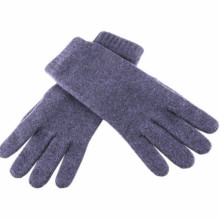 15PKMT02 lady's winter trendy pure cashmere glove